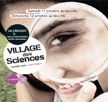 afficheVillageSciences