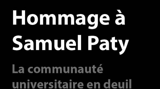 Hommage à Samuel Paty – Discours du Directeur du Centre Condorcet